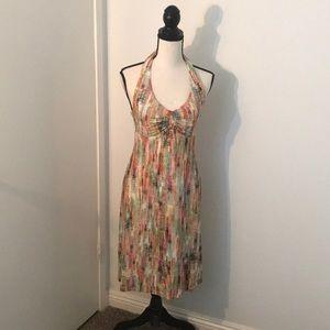 CAbi halter dress size Small